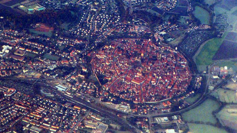 This Beautiful Town in Germany Built Out Of Diamonds In The Middle Of 15-Million Years Old Meteorite Crater