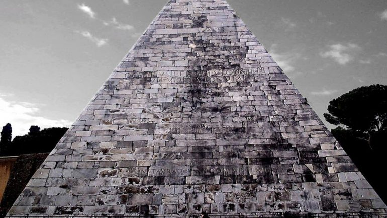 What is a Pyramid Doing in The Heart of Rome?