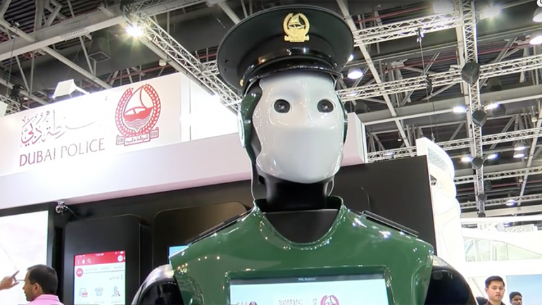 Real Life Robocop: Dubai To Get Android Police Force by 2017