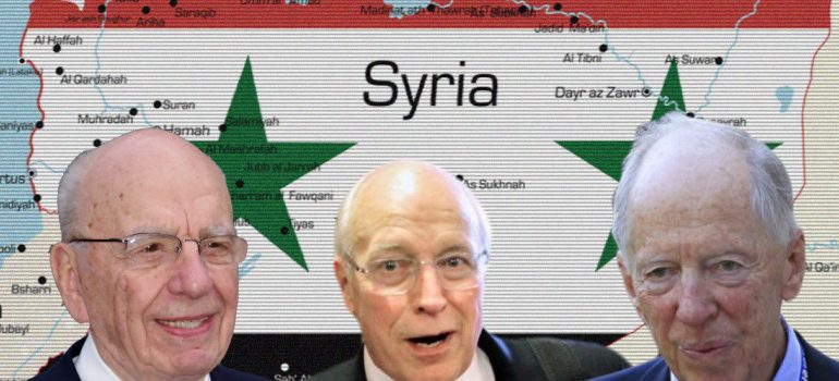 Cheney, Rothschild & Murdoch To Drill For Oil In Syria