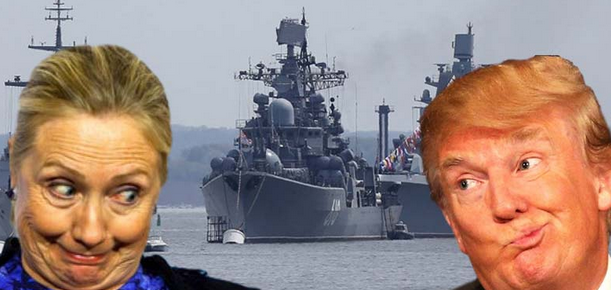 While Americans Fight Over Which Clown to Elect, Russia Deployed Its Largest Fleet Since The Cold War