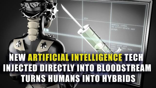 New A.I. Tech Injected Directly Into Bloodstream Turns Humans Into Hybrids
