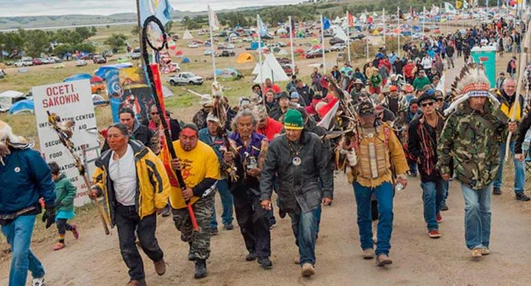 As Natives Declare Treaty Rights, Police Admit Defeat — Cite Lack of 'Manpower' To Remove DAPL Protesters