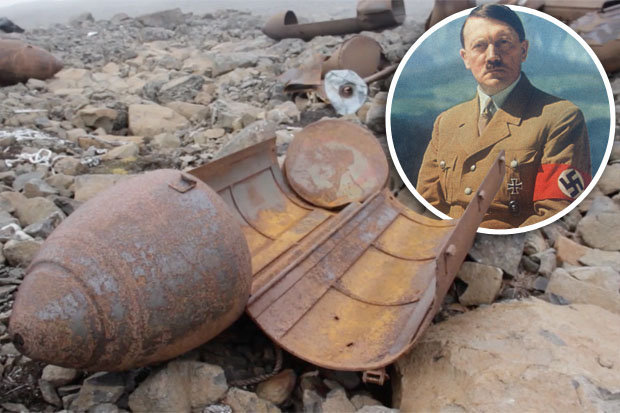 Hitler's Secret Nazi Base Discovered In The Arctic By Scientists