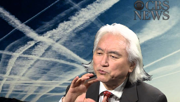 SCIENTIST DR. MICHIO KAKU ADMITS GOVERNMENT 'WEATHER CONTROL' ON CBS NEWS
