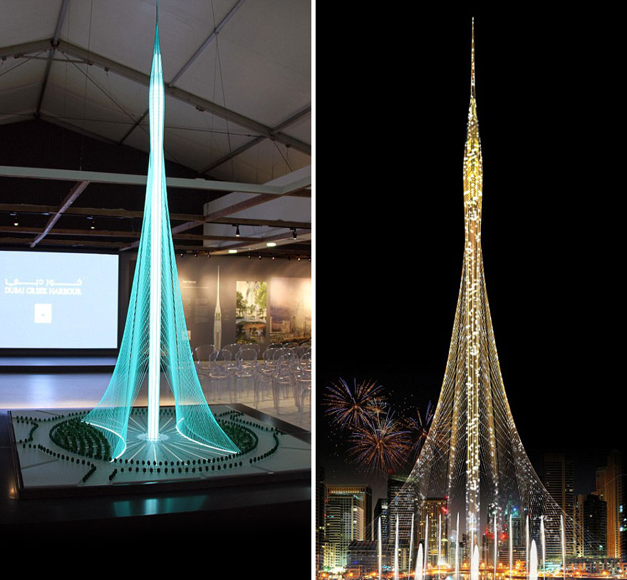 Dubai Starts Building New World's Tallest Tower, And It
