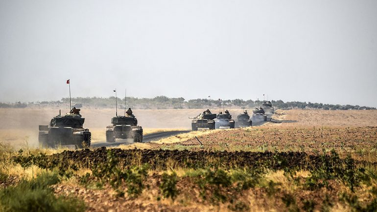 Turkish Forces Are in Syria To End Assad's Rule