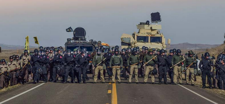 Army Corps Announces Eviction of Water Protectors, Corps-Managed Land To Be Emptied