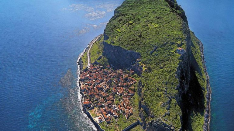 An Entire Medieval Town Is Hidden Behind This Giant Rock