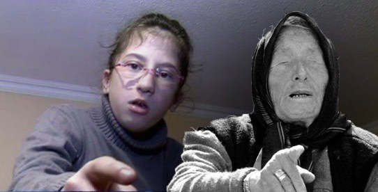 12-Years-Old Girl-The Heir of Baba Vanga with SERIOUS Prediction About the World