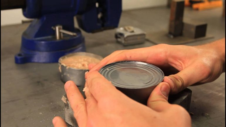 Don't Have a Can Opener? Here's How To Open a Can Without 1