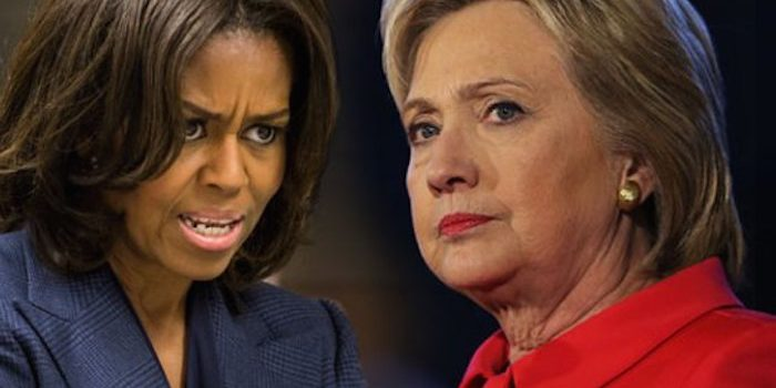 Michelle Obama Deletes Hillary Clinton From Twitter