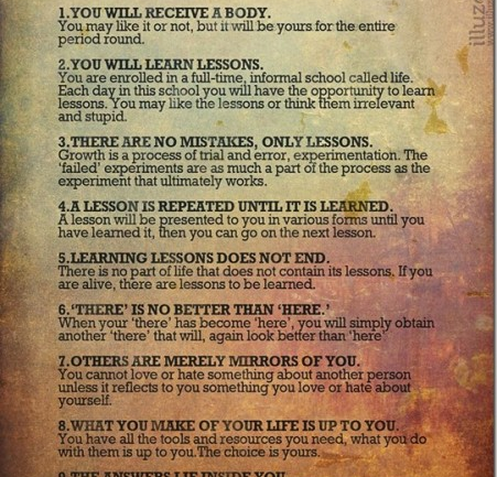 9 Rules For Being Human Handed Down From An Ancient Sanskrit