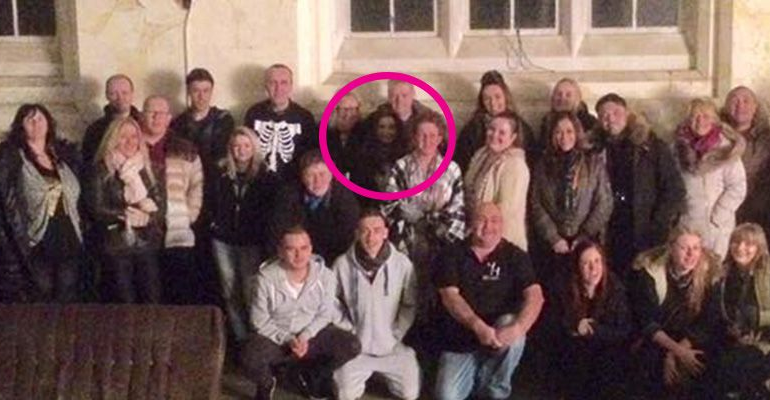 """Ghost Hunters Completely Spooked After Finding a """"Ghost"""" Photobombed Their Picture"""