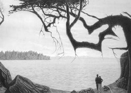 There's A Third Person In This Old Photo. But Only A Small Group Of People Can Pick It Out. Can You?