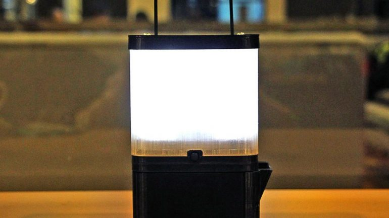 Brilliant SALt Lamp Runs 8 Hours On Just 1 Glass Of Salty Water