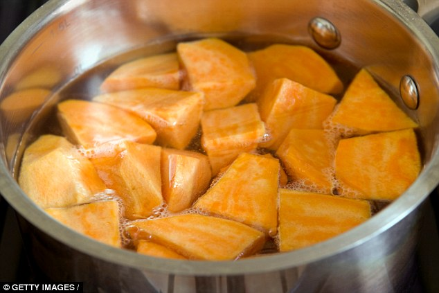 Want To Lose Weight? Try Drinking Waste Water From Cooking Sweet Potatoes