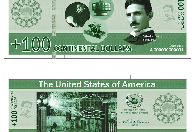 American New Republic Currency Looks Like This Continental Dollars