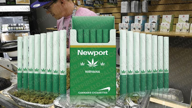 "Newport Introduces ""Marijuana Cigarettes"" That will Go On Sale Worldwide Next Year"