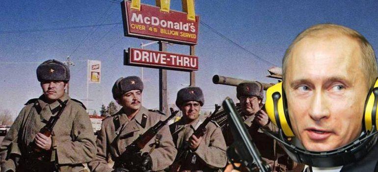 Russia Begins Closing McDonald's Restaurants