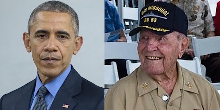 95-Year-Old WWII Veterans HARSH Letter To Obama Is Blowing Up The Internet
