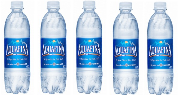 strategies of aquafina