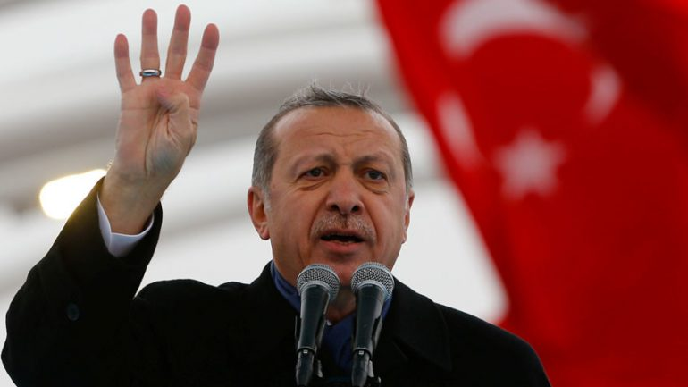 Turkey's Erdogan Says U.S. Supports ISIL: 'We Have Evidence With Pictures & Videos'