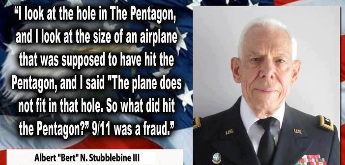 """I Can Prove That It Was NOT an Airplane"" That Hit The Pentagon – Major General Albert N. Stubblebine"