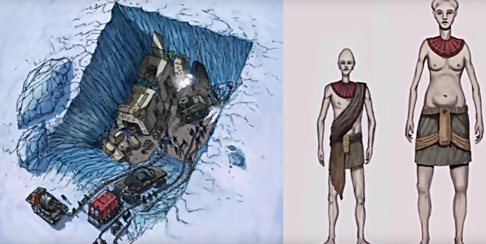 Frozen Ancient Civilization Discovered In Antarctica