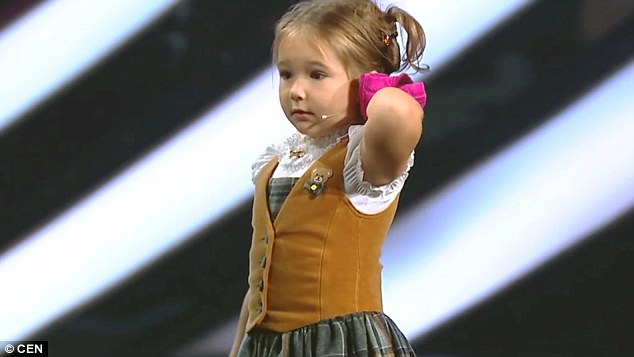 4-Year-Old Russian Girl Speaks 7 Languages In Front Of Judges And Leave Them Stunned