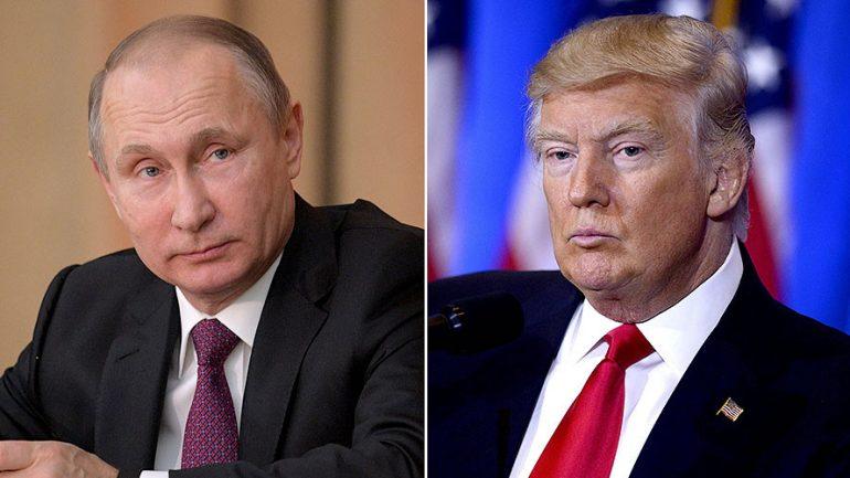 'Worse Than Prostitutes': Putin Slams Those Behind Trump Leak