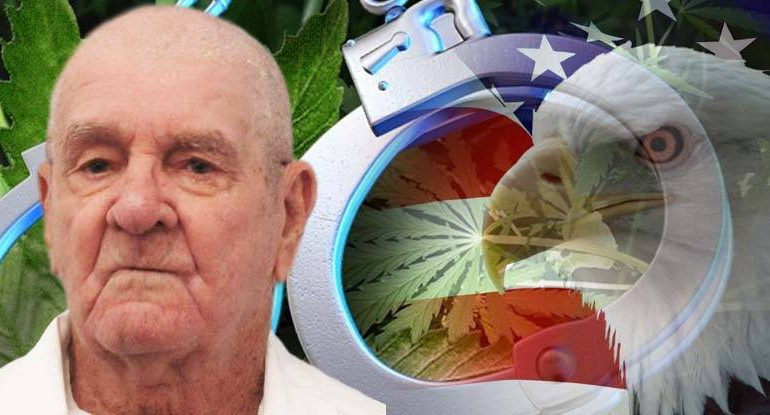 After Fighting For Freedom, 76 Year Old Vet Sentenced To Die In Prison For Treating His Illness With Pot