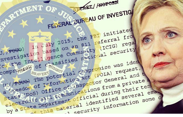 As Americans Freaked Over Russian Fake News, FBI Quietly Released New Clinton Investigation Docs