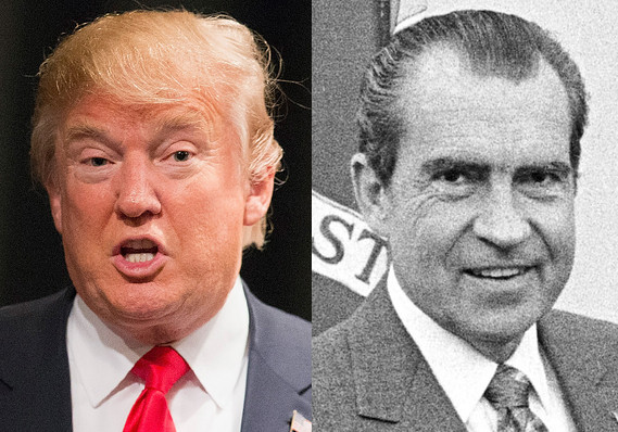 Trump Announces He'll Hang 30 Year Old Nixon Letter Telling Trump He'd Make a Good President in Oval Office
