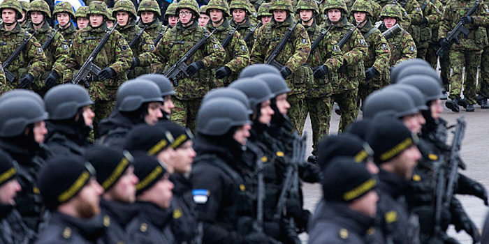 The US Has Begun Amassing Troops on Russian Border