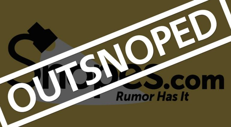 Out-Snoped! Snopes Outed as Unfit To Discern Fake News From Truth