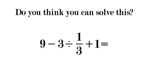 Here's The Elementary School Math Problem That's Stumping 9 Out Of 10 Adults. Can You Solve It?