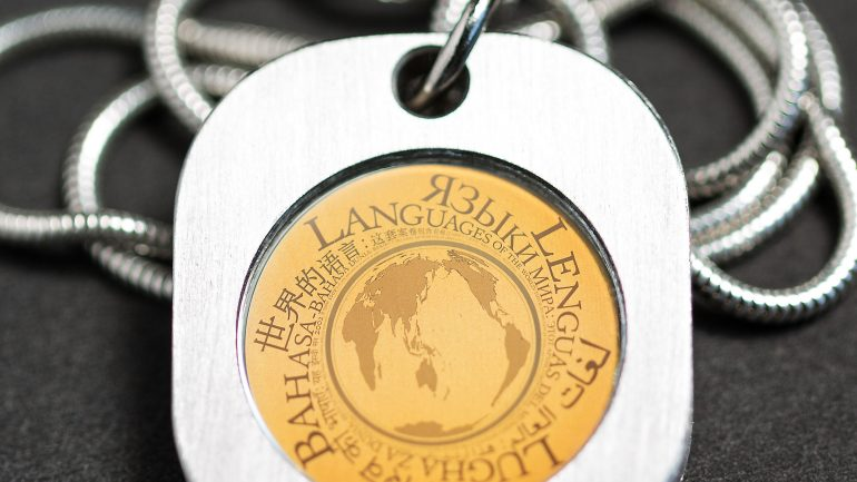 This Necklace Contains All of the World's Languages