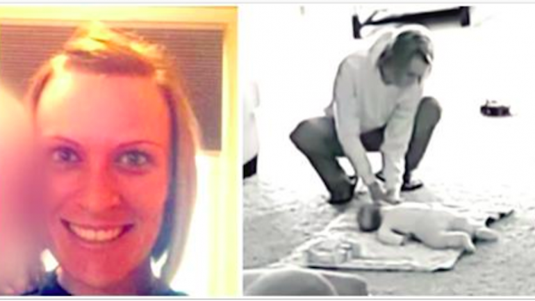 Little Boy Says Day Care Worker Is Acting Strange, So Her Husband Installs Camera To See Proof