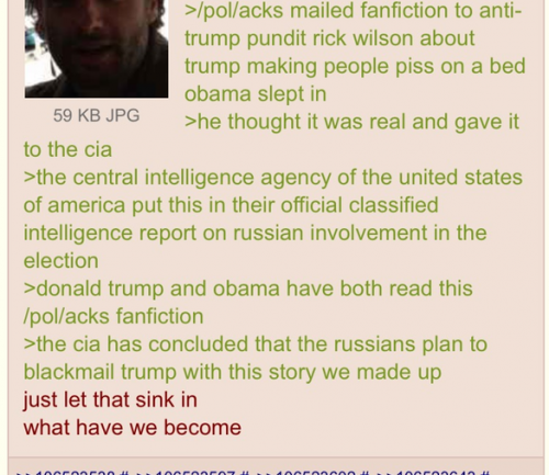 4Chan Claims To Have Fabricated Anti Trump Report As A Hoax