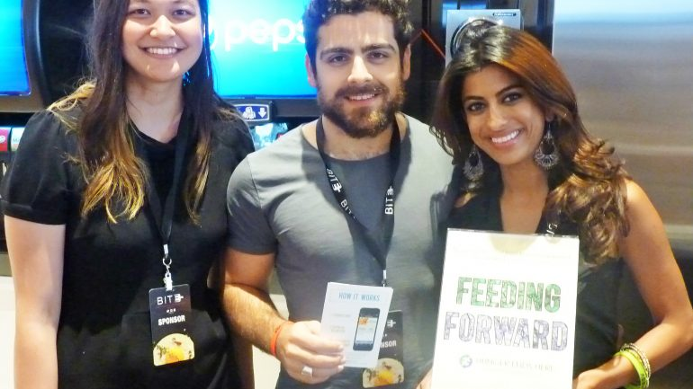 University Student Develops Phone App To Feed Nearly 600,000 Homeless People a Year  With Food That Otherwise Would Be Wasted