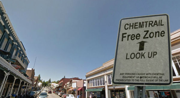 Nevada City Becomes First In The World To Enforce Chemtrail Free Zone