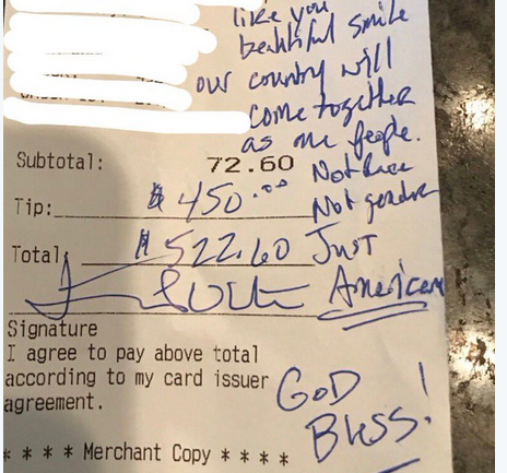 Waitress Was Surprised When 3 Trump Supporters Sat at Her Table—But When They Left She Was in Tears