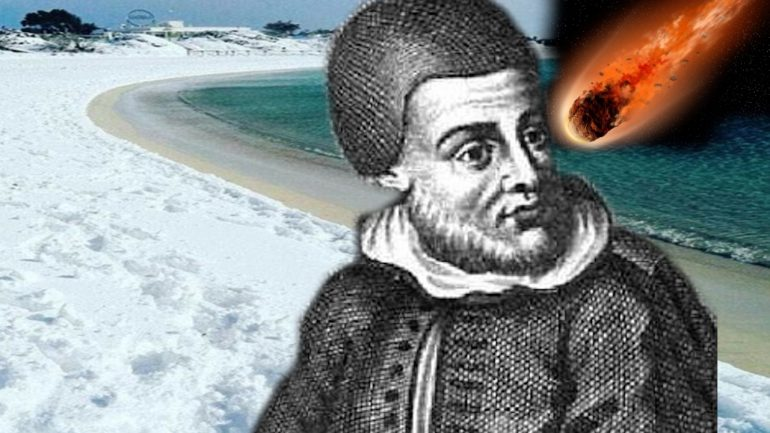 """Ancient Doomsday Prediction Comes True As """"Two Days of Snow"""" Blanket Italian Beach"""