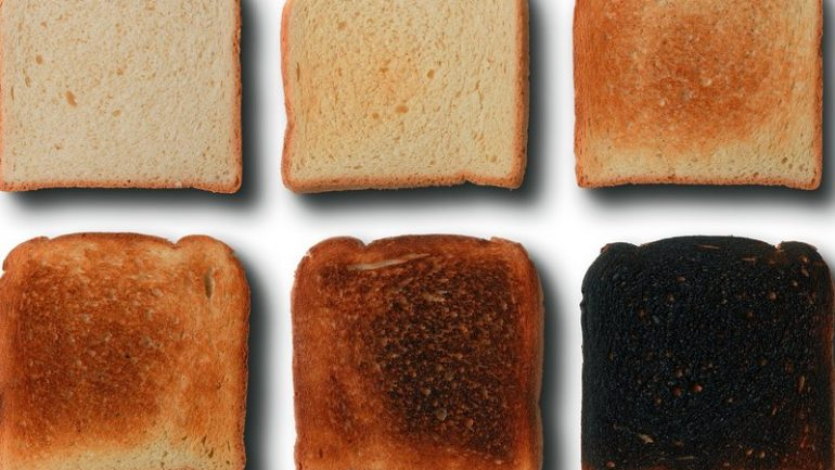 Why Food Experts Are Warning Not to Burn Your Toast