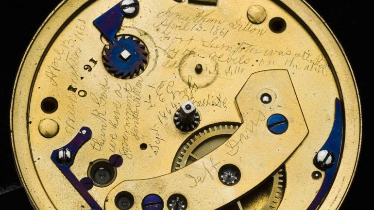Lincoln's Pocket Watch Reveals Long Hidden Message