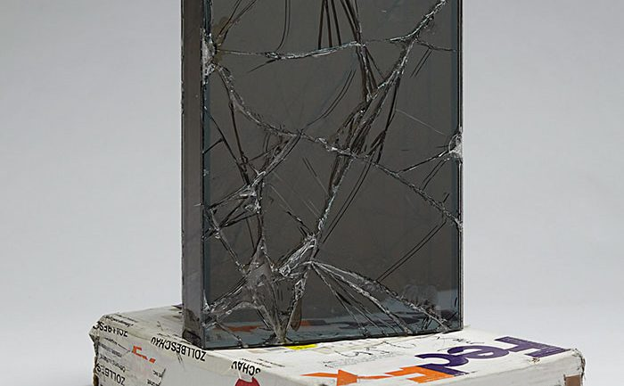 Artist Spends 9 Years Using FedEx To Ship Glass Boxes To Create Shattered Sculptures
