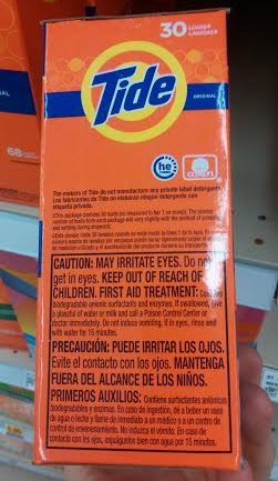 Here's Why You Should Avoid Toxic Tide Laundry Detergent