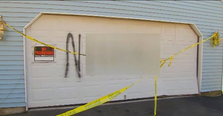 City Fines Interracial Couple After Someone Spray Painted A Racist Slur on Their Home