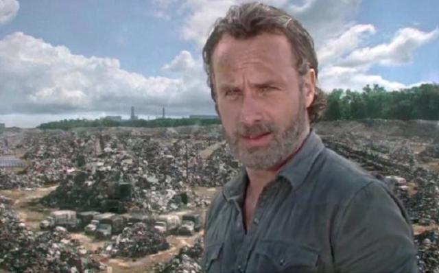 Millions Saw A UFO In 'The Walking Dead' Episode